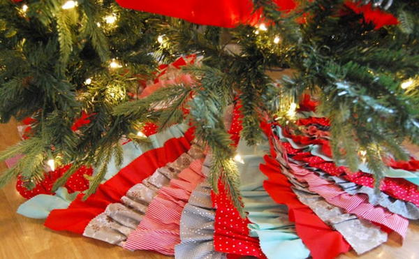 No Sew Tree Skirt Tutorial