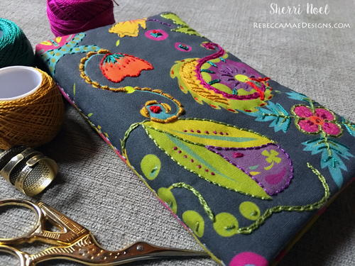 Bright and Bold Needle Book Tutorial