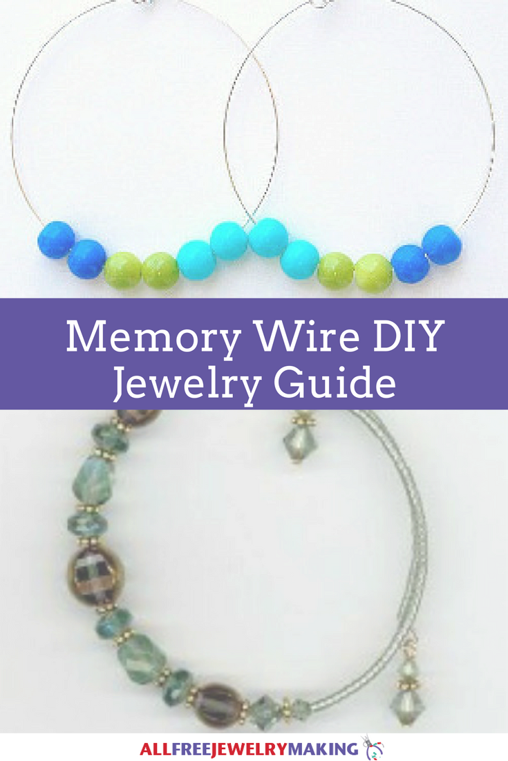 How to Work With Memory Wire When Making DIY Jewelry |  AllFreeJewelryMaking.com