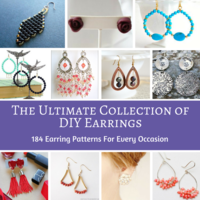 The Ultimate Collection of DIY Earrings: 184 Earring Patterns for Every Occasion