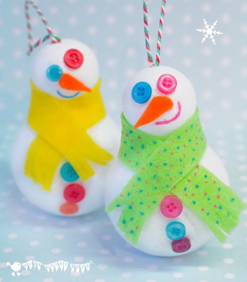 Winter Snowman 3D Craft