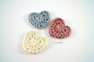Easy Crochet Hearts