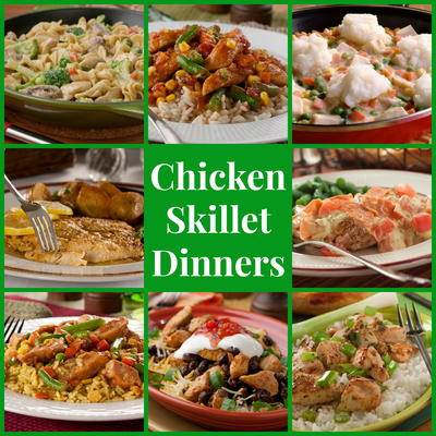 Stovetop Recipes 14 Chicken Skillet Dinners Mrfood