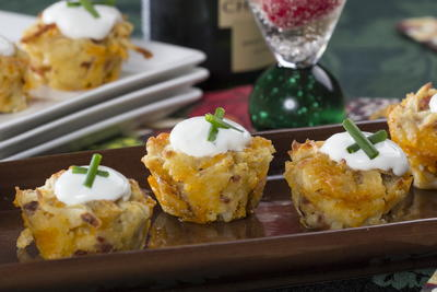 Loaded Potato Cocktail Bites