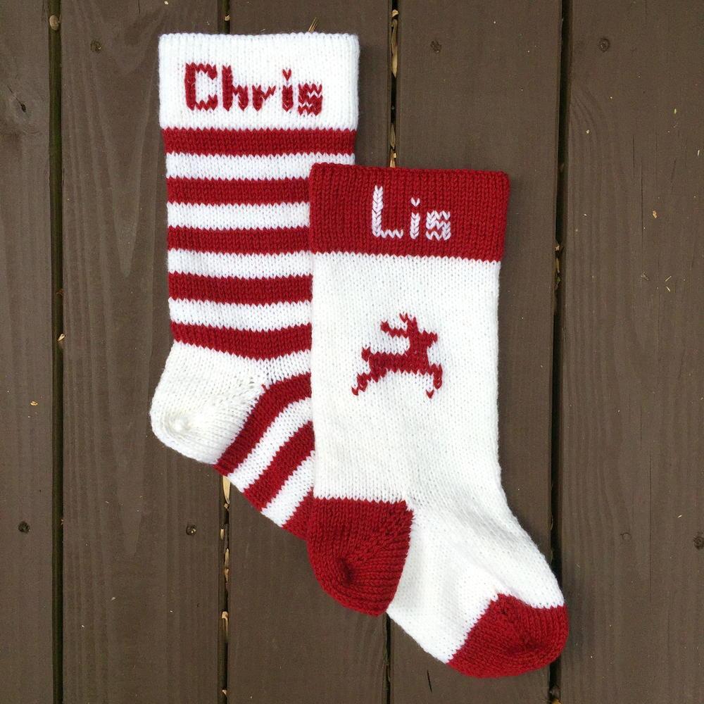 simple heirloom christmas stocking allfreechristmascraftscom - Extra Large Christmas Stockings