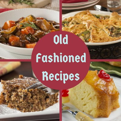 Old fashioned cooking recipe 98