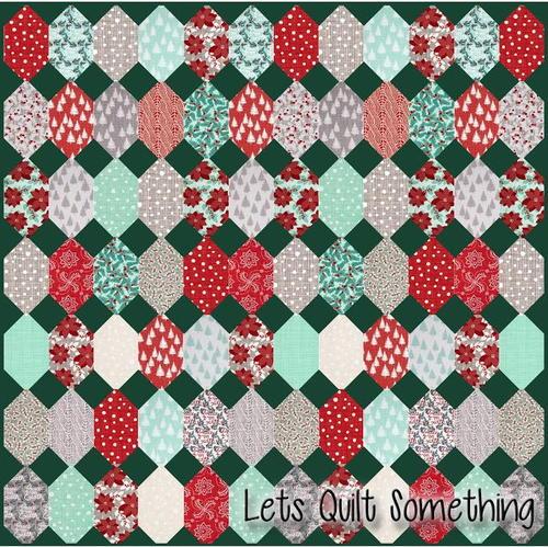Winterberry Layer Cake Quilt Pattern   FaveQuilts.com : cake quilt pattern - Adamdwight.com