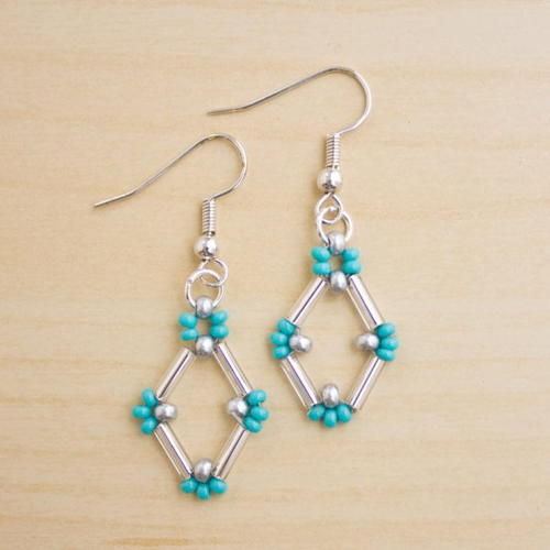 pumps iron diy tribal beaded beading earrings