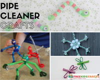 Kids Craft Ideas: 37 Pipe Cleaner Crafts