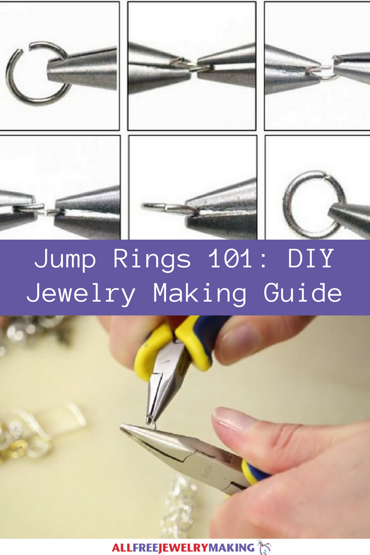 jump rings 101 diy jewelry making guide allfreejewelrymaking com rh allfreejewelrymaking com jewelry making guide beginners jewelry making guide pdf