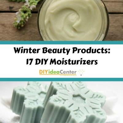 Winter Beauty Products 17 DIY Moisturizers