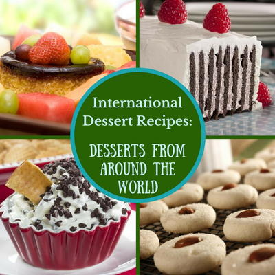 International dessert recipes 12 desserts from around the world well now you can right from the comfort of your own kitchen with these international desserts you can sample desserts from around the world forumfinder Gallery
