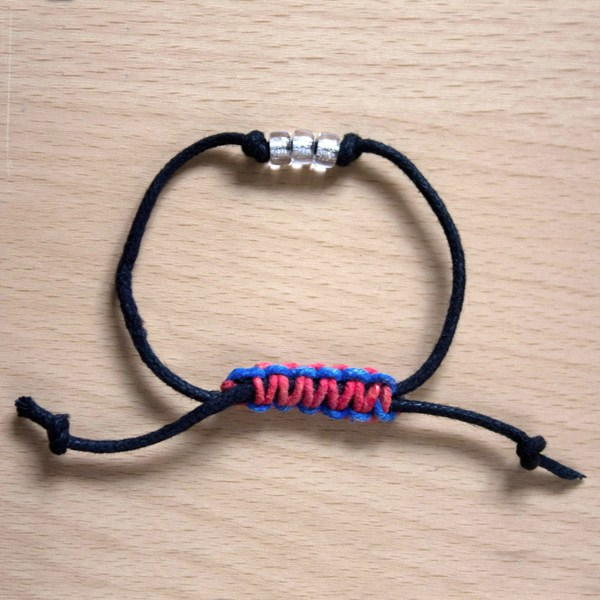 how to make macrame bracelet with sliding knot how to make a square sliding macrame knot 5676