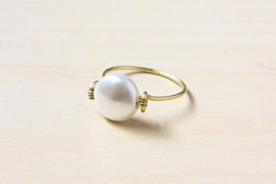 Simple and Elegant Wire Ring | AllFreeJewelryMaking.com