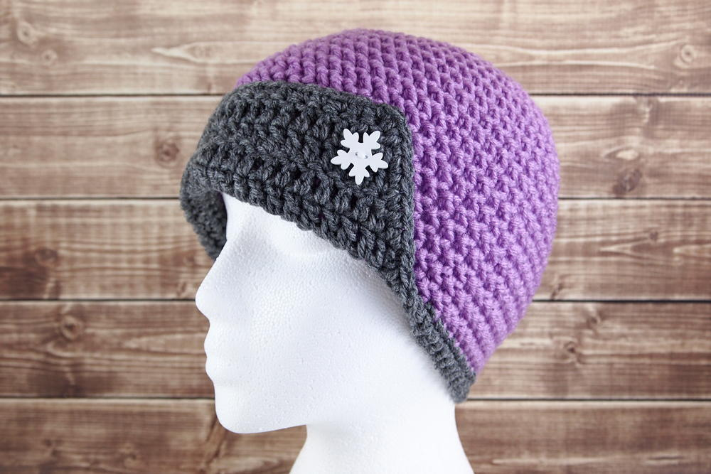 Cosmic Flapper Crochet Hat Allfreecrochet