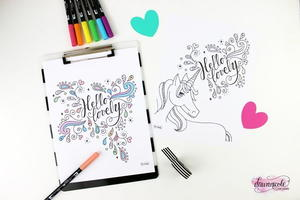 Coloring Pages For New Years 2016 : Adult coloring book pages free and printable favecrafts