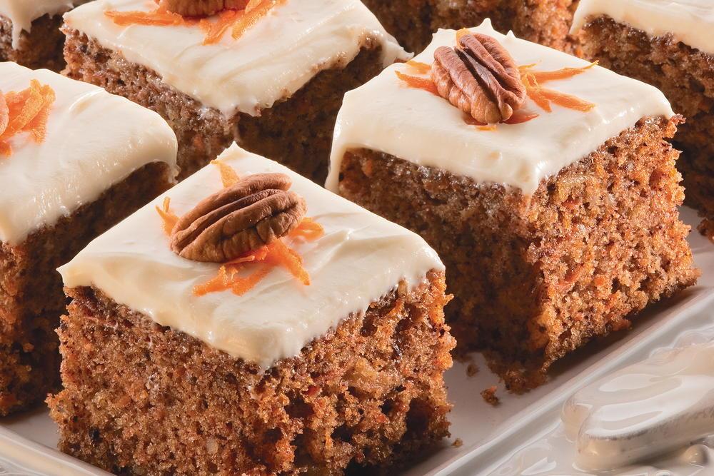 Carrot Cake Squares  MrFood.com
