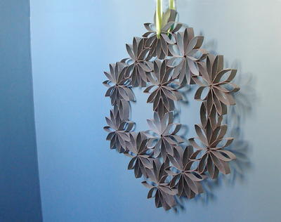 Fantastic Toilet Paper Roll Wreath