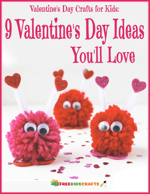 Valentines Day Crafts for Kids eBook
