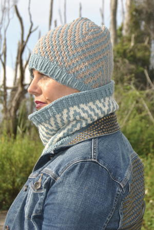 Mosaic Chevron Hat