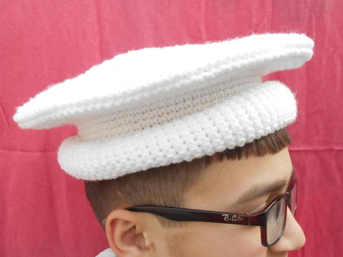Crochet Afghan Men Hat