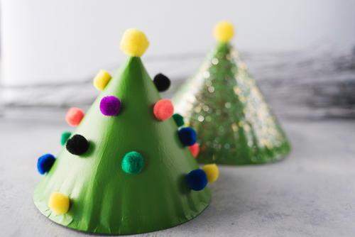 miniature christmas tree diy decoration - How To Make Miniature Christmas Decorations
