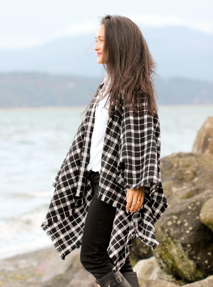 Winter Layers Cape Scarf Tutorial | AllFreeSewing.com