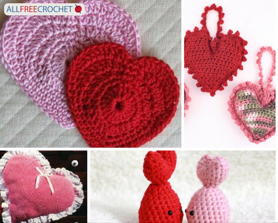 62 Best Valentines Day Crochet Patterns Allfreecrochet