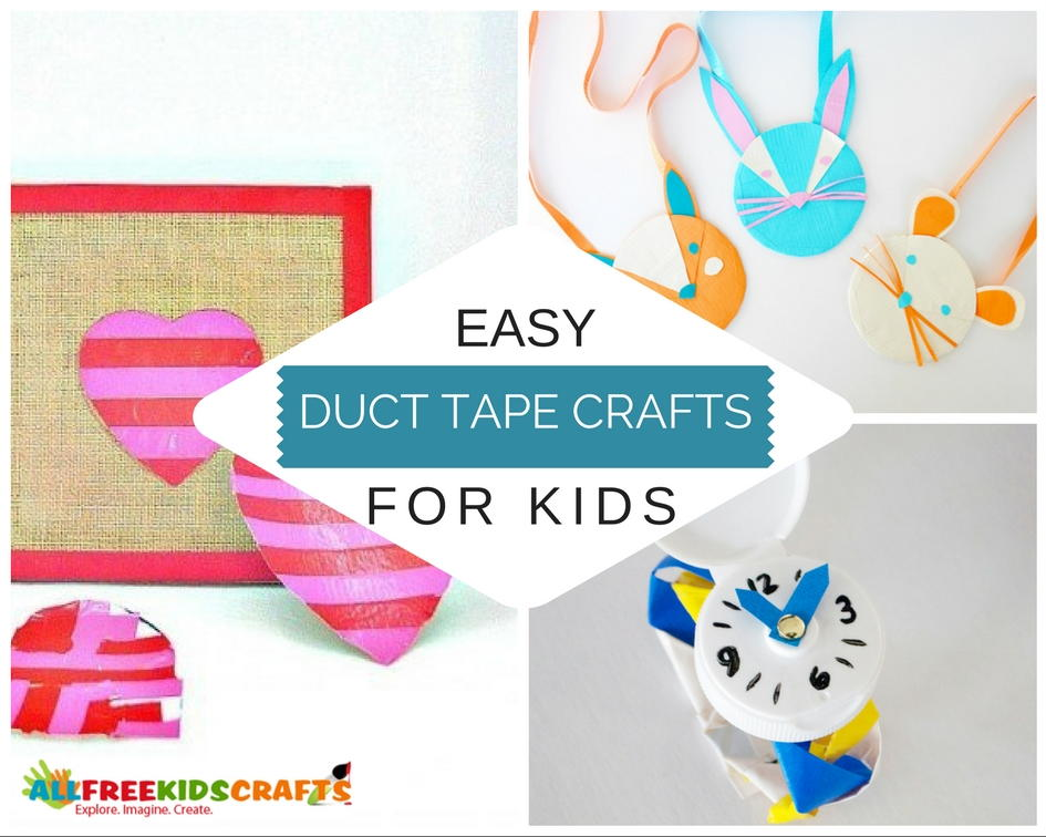 What To Make With Duct Tape 90 Easy Duct Tape Crafts For Kids