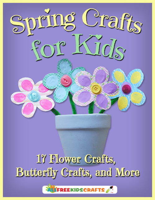 FREE Spring Crafts eBook...