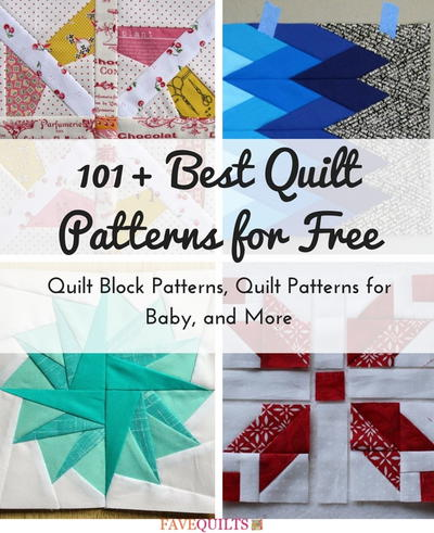 101 best quilt patterns for free