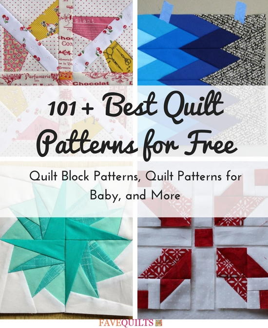 900+ Free Quilting Patterns | FaveQuilts.com : free quilt - Adamdwight.com