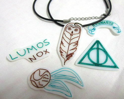Creative Harry Potter Inspired DIY Pendants