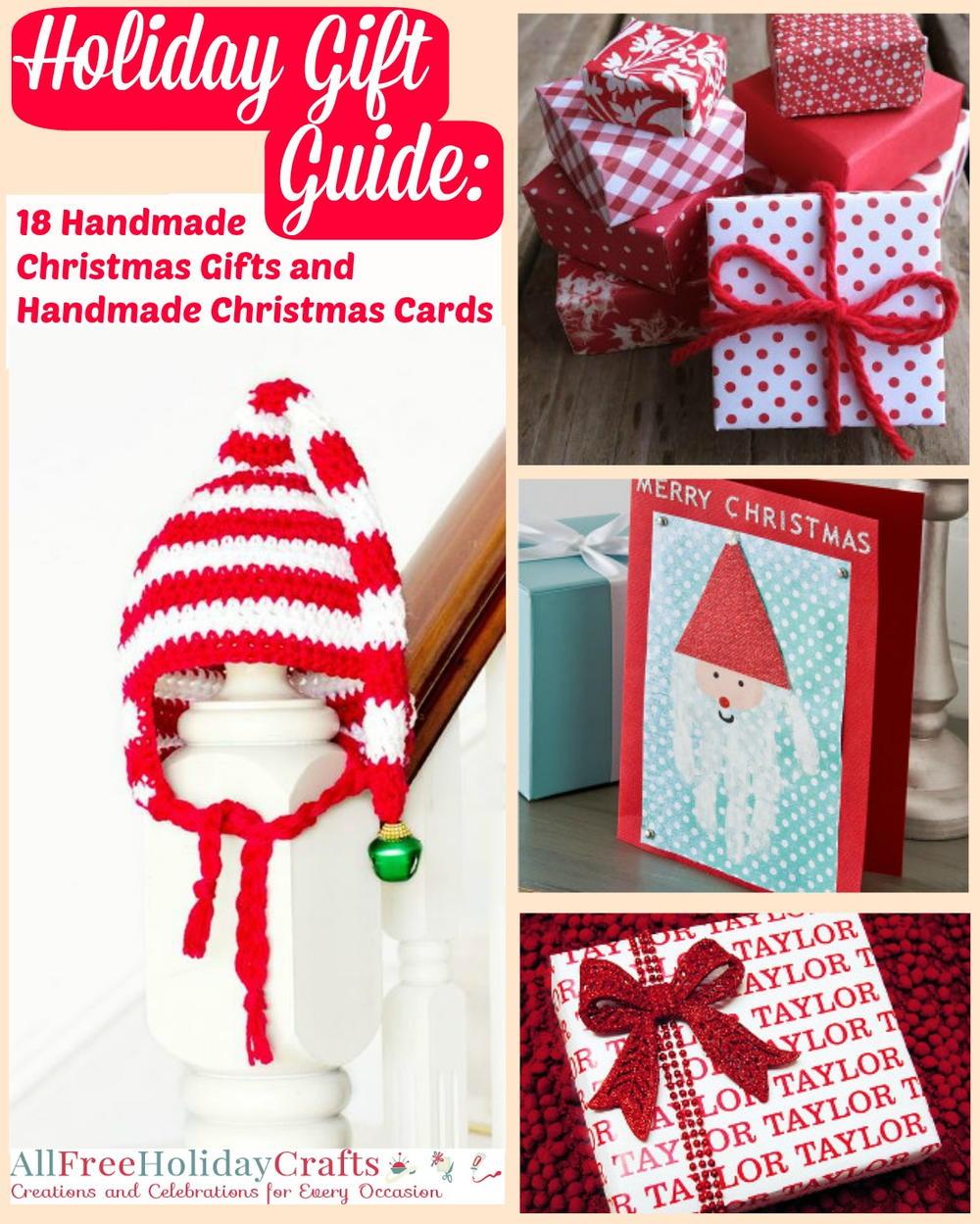 Holiday Gift Guide: 18 Handmade Christmas Gifts and Handmade ...