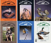 1985-1989 Issues of Wildfowl Carving Magazine