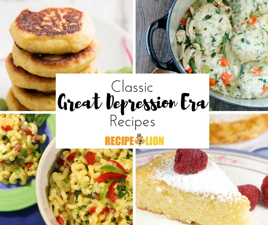 24 classic great depression era recipes recipelion forumfinder Gallery