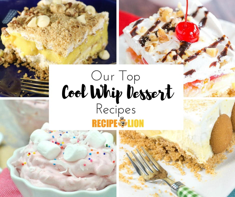 26 Easy Cool Whip Recipes Desserts More