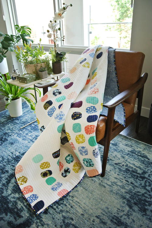 Aria Watercolor Quilt Pattern