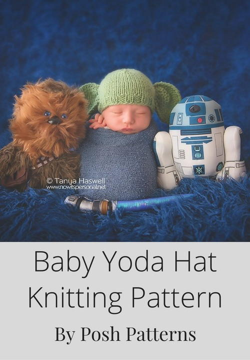 Knit Yoda Hat Allfreeknitting