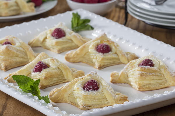 Raspberry Cream Danish