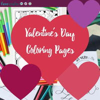 17 Valentine's Day Coloring Pages
