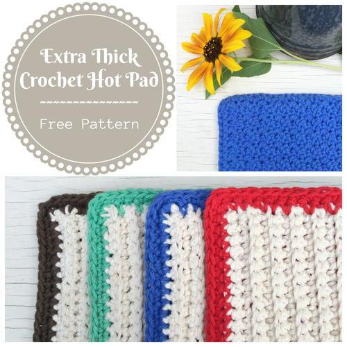 Extra Thick Crochet Hot Pad Allfreecrochet