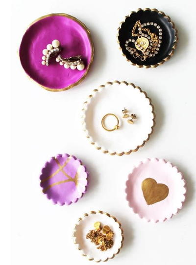 Chic DIY Clay Jewelry Dish