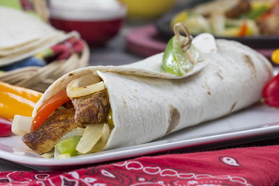 Grande Chicken Fajitas
