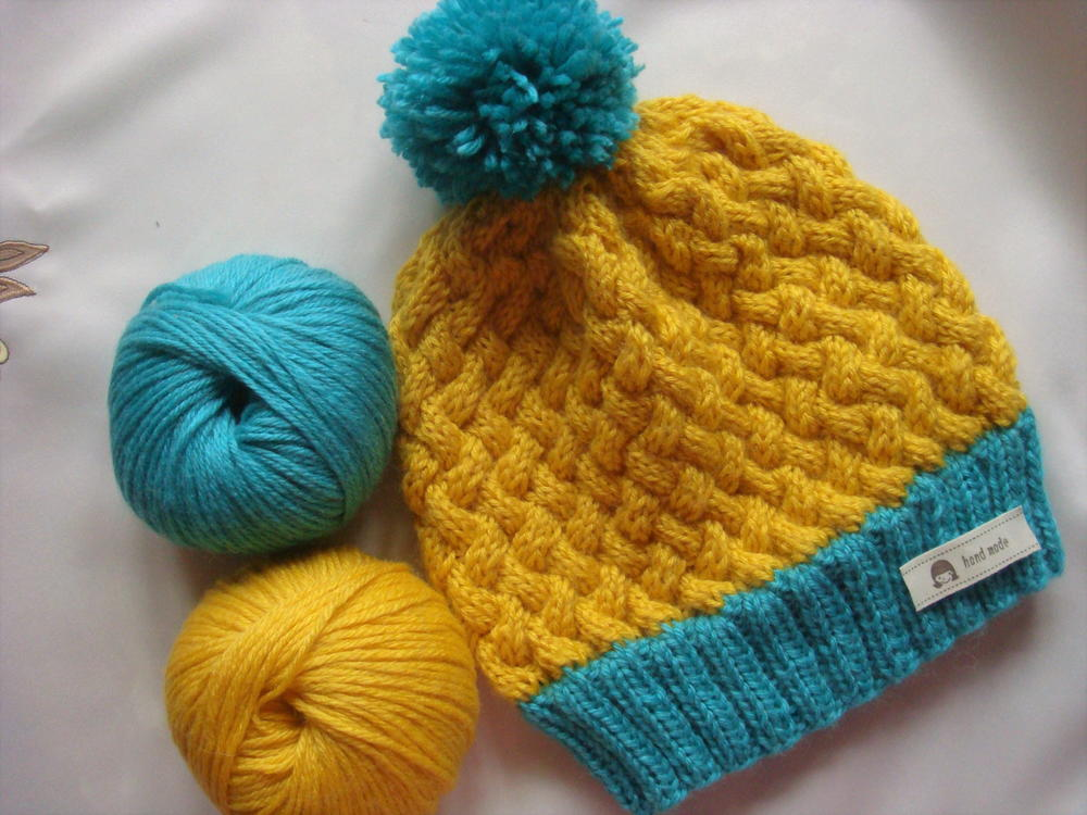 Wicker Swedish Cable Hat | AllFreeKnitting.com