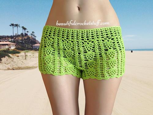Free Crochet Shorts Pattern Allfreecrochet