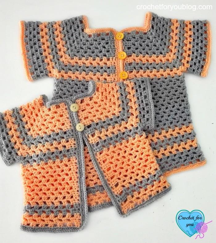 Lil Darlin Baby Cardigan Pattern In Multiple Sizes Allfreecrochet