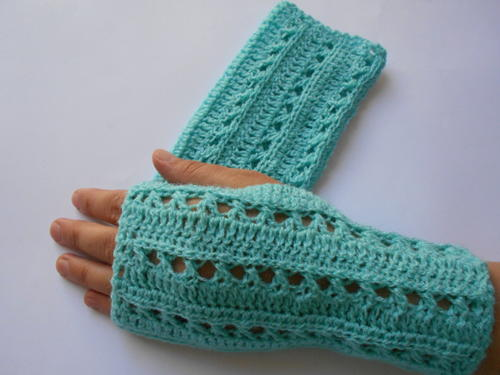 Crochet Gloves Pattern Allfreecrochet