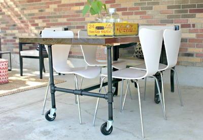 Superieur Amazing DIY Plumbing Pipe Table