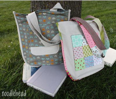 Check Me Out Library Tote Pattern